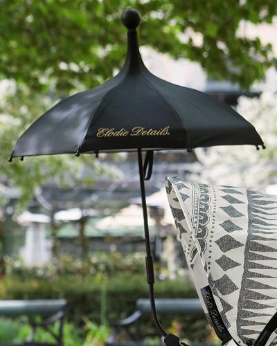 Elodie Details - Parasolka do wózka Brilliant Black