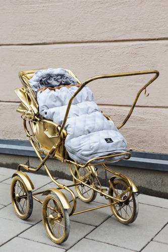 Elodie Details - Śpiworek do wózka Gilded Grey