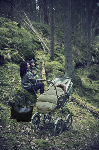 Elodie Details - Śpiworek do wózka Woodland Green