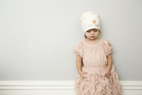 Elodie Details - czapka Vanilla White, 0-6 m-cy