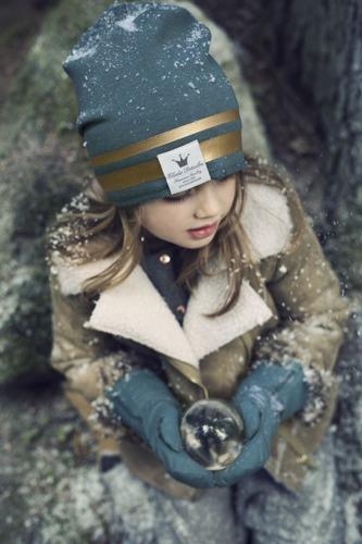 Elodie Details - rękawiczki Pretty Petrol, 12-36 m-cy