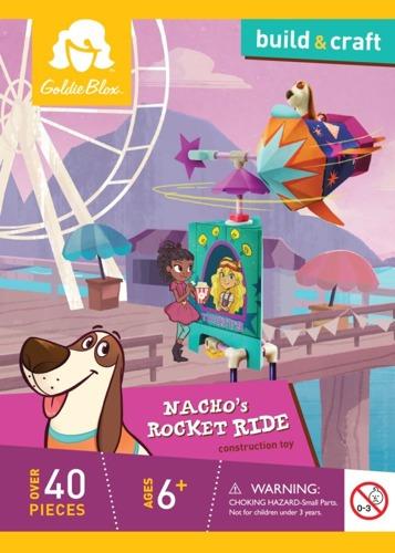 GoldieBlox - Odlotowa rakieta pieska Nacho