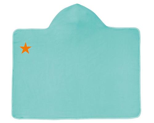 Lassig - Ręcznik z kapturem Aqua