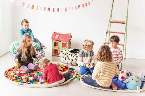 Play&Go - Worek Zielone Romby