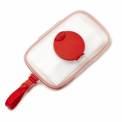 Skip Hop - Pojemnik na mokre chusteczki Swipes Red