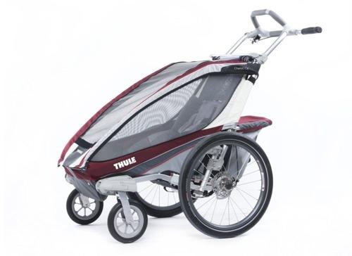 THULE Chariot CX1, przyczepka rowerowa dla dziecka - czerwona