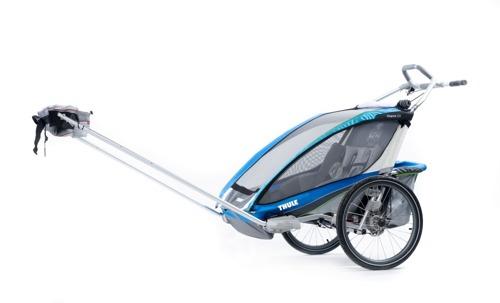 THULE Chariot CX1, przyczepka rowerowa dla dziecka - niebieska