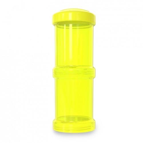 Twistshake - Pojemnik 2x100ml, żółty