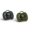 Herobility - smoczek uspokajający HeroPacifier, 0 m+, czarny/zielony, 2 szt.