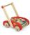 Janod - Wózek chodzik z klockami abecadło duży