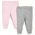 Skip Hop - Spodnie 2 szt. Pink 3M