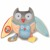 Skip Hop - Zabawka Treetop Sowa Edukacyjna Grey/Pastel
